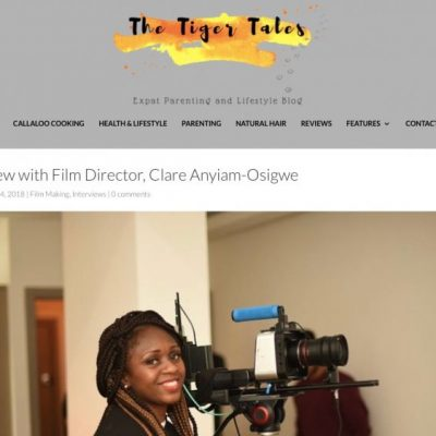 ​Thank you @MsXpat​ for interviewing @clareanyiamo​ about @noshadefilm