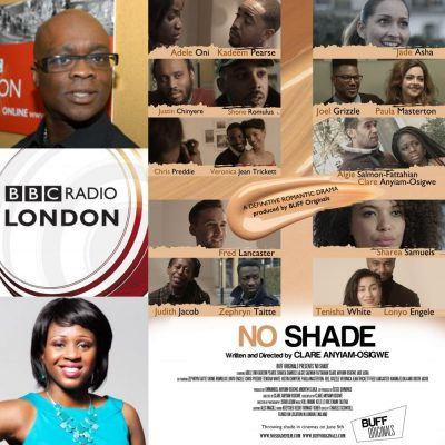 Writer/Director of @noshadefilm @clareanyiamo discusses Colourism in the work place on @BBCRadioLondon