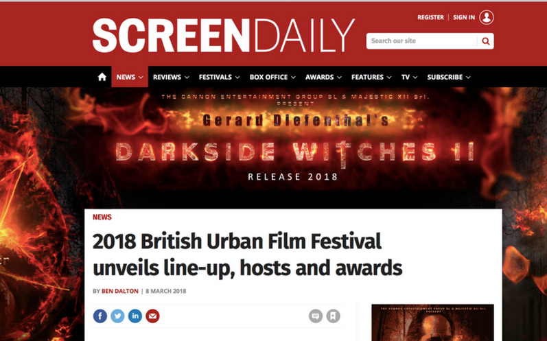 @ScreenDaily features the entire BUFF2018 Line up including Premieres @twogravesltd @noshadefilm and sold out @buffawards